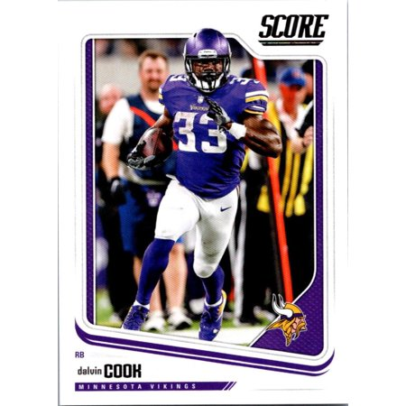 2018 Score #197 Dalvin Cook Minnesota Vikings Football Card for $<!---->