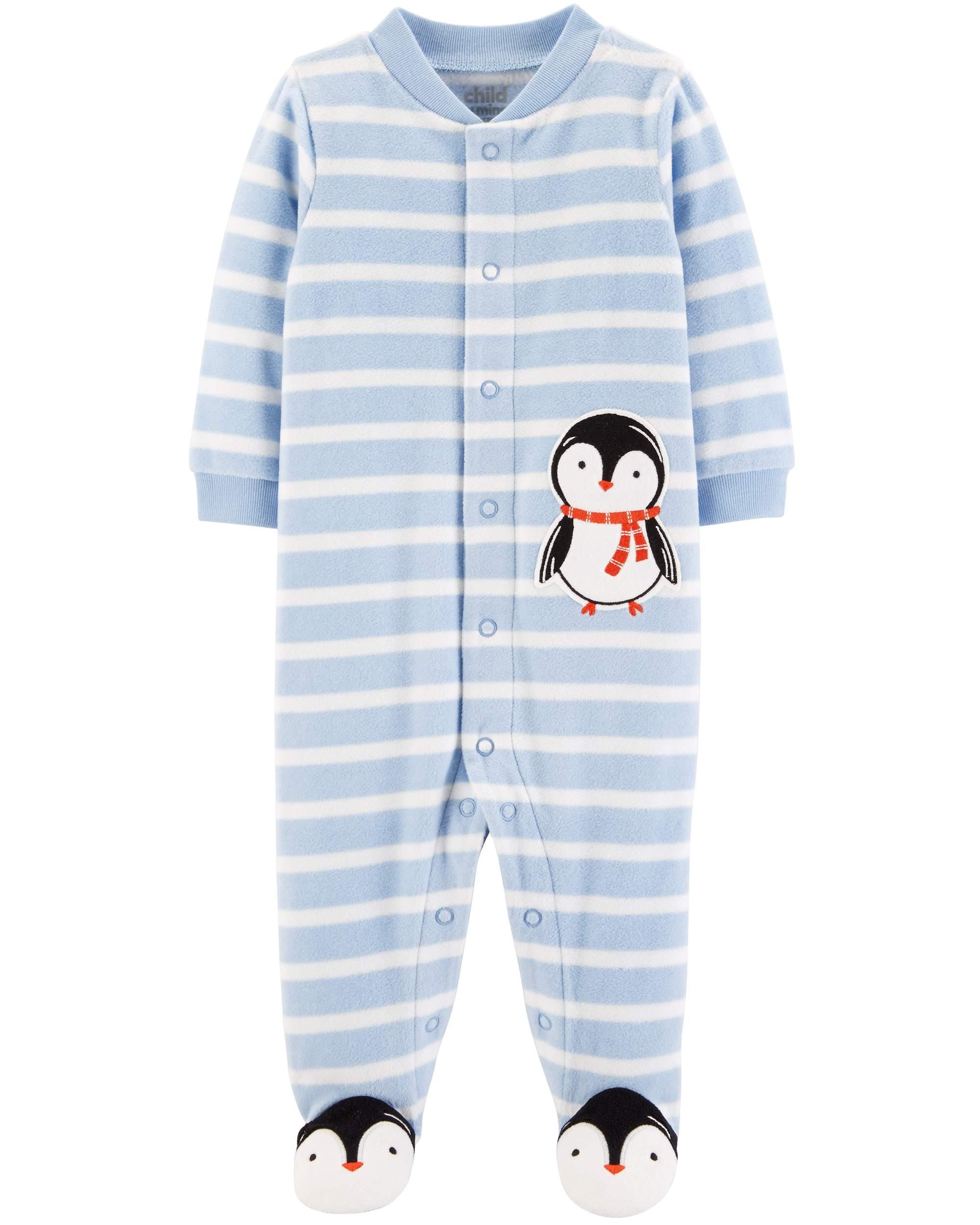 Christmas Sleep N' Play Pajamas (Baby Boys)