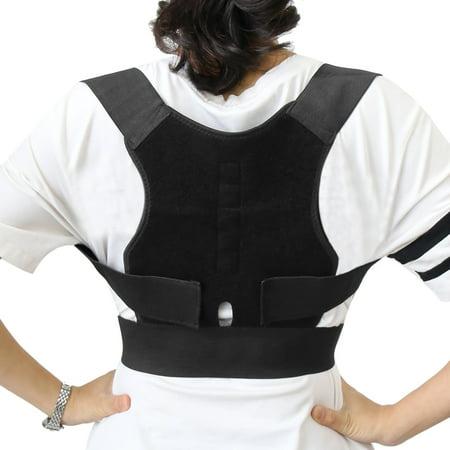 Magnetic Therapy Adjustable Back Shoulder Support Belt Posture Corrector Belt
