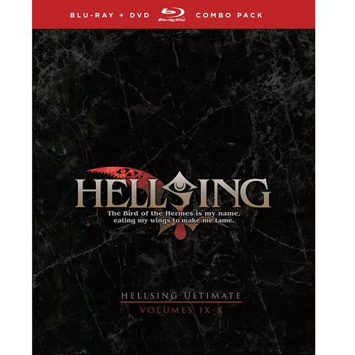 Hellsing Ultimate: Volumes IX & X (Blu-ray + DVD) (Japanese) (Best Horror Action Anime)