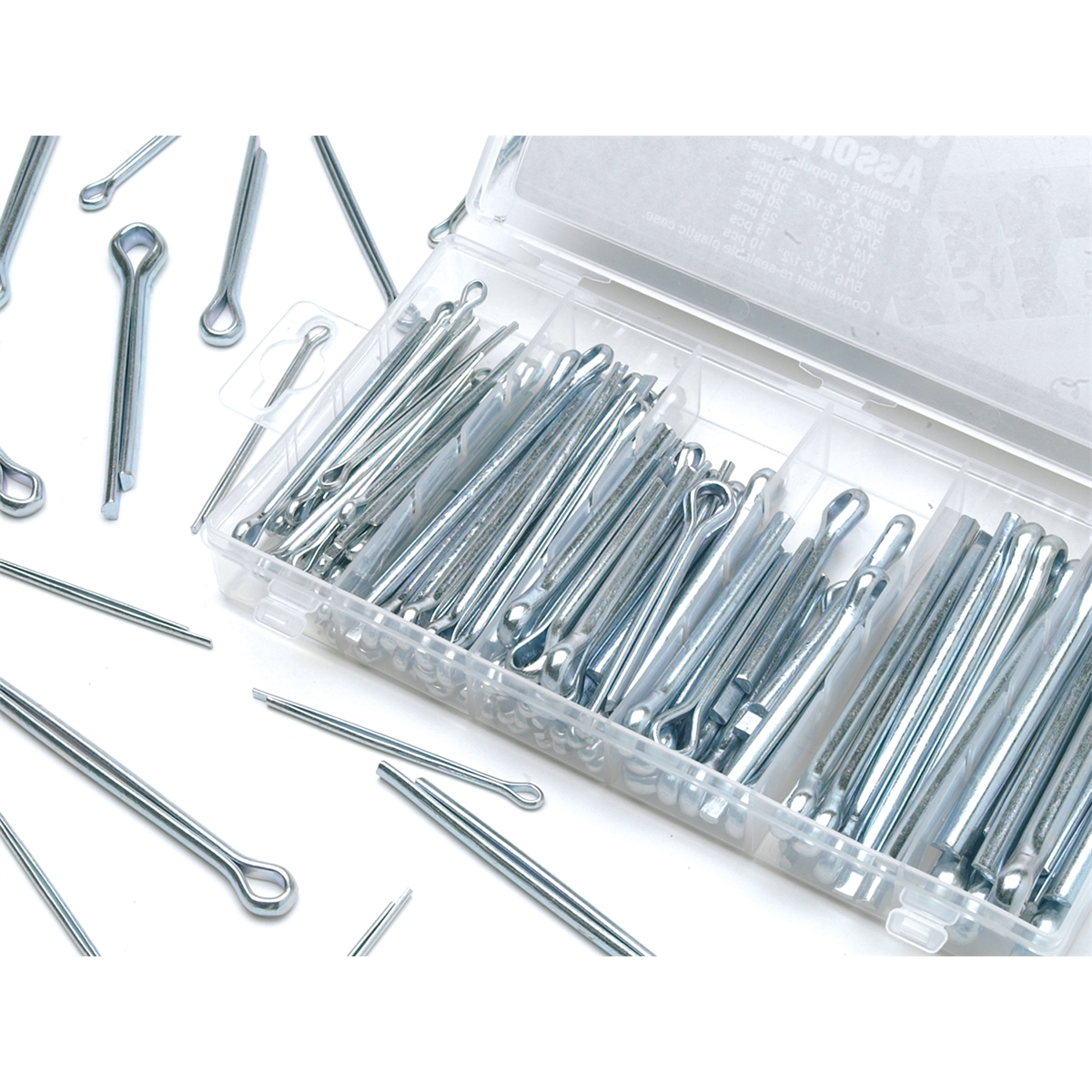 150 Pc. Large Cotter Pin Hardware Kit