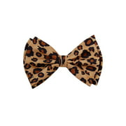 Pre-tied Bow Tie in Gift Box- Leopard Print