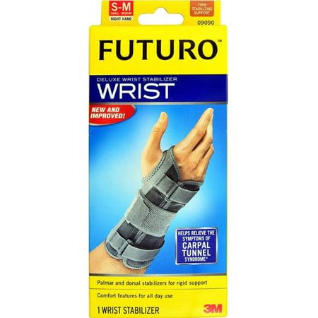 6 Pack - FUTURO Deluxe Wrist Stabilizer Right Hand Small-Medium 1