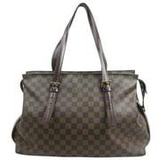 Louis Vuitton Damier Ebene Chelesea Zip Tote 871498