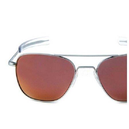 fdeaef00c8b1 Randolph - Randolph Engineering Aviator Matte Chrome Bayonet 58mm Orange  Flash Sunglasses - Walmart.com
