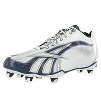 6d9a8466682 Product Image REEBOK NFL BURNER SPD LT LO M4 MENS FOOTBALL CLEATS WHITE    NAVY 11