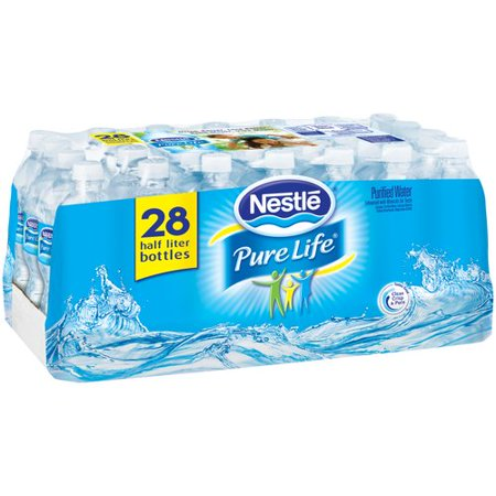 Nestle Pure Life Purified Water 0.5 L 28 Count