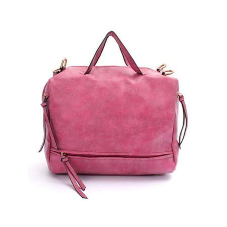 Fashion Women PU Leather Messenger Crossbody Bag Handbag Motorcycle Shoulder