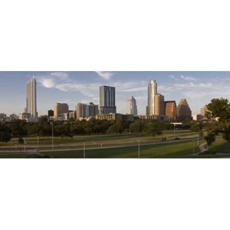 Buildings in a city Austin Travis County Texas USA Canvas Art - Panoramic Images (15 x - Party City In Austin Texas