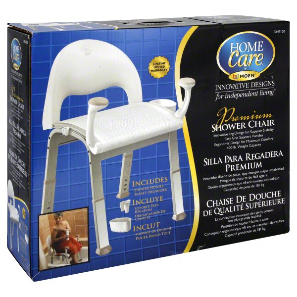 moen home care shower chair 1ct