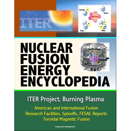 Nuclear Fusion Energy Encyclopedia: ITER Project, Burning Plasma, American and International Fusion Research Facilities, Spinoffs, FESAC Reports, Toroidal Magnetic Fusion - eBook