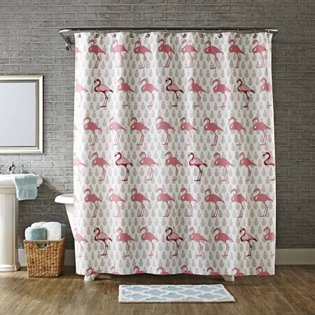 Better Homes Gardens Flamingo Shower Curtain