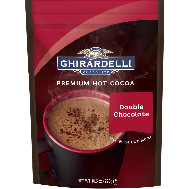 Ghirardelli Double Chocolate Premium Hot Cocoa, 10.5 oz