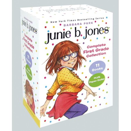Junie B. Jones Complete First Grade Collection: Books 18-28 with Paper Dolls in Boxed Set (Paperback) (Halloween Activity For First Grade)