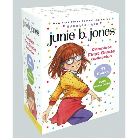 Junie B. Jones Complete First Grade Collection: Books 18-28 with Paper Dolls in Boxed Set (Paperback) (Halloween Poem 1st Grade)