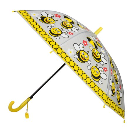 99143d10c7ceb AERUSI - Rainy Day Novelty Kids Easy Open Automatic Umbrella with Safety  Whistle - Walmart.com