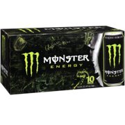 Monster Energy Drink, Original, 16 Fl Oz, 10 Count by Generic