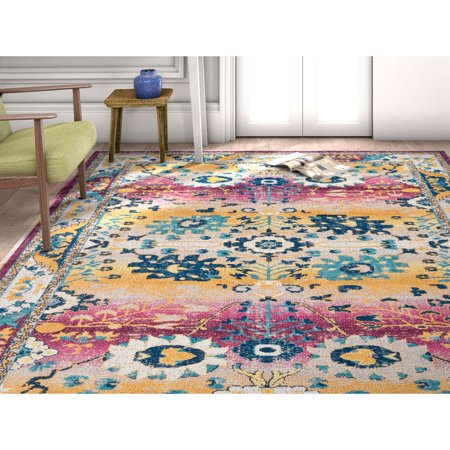 Well Woven Firenze Shera Traditional Antique Persian Look Passion Area Rug