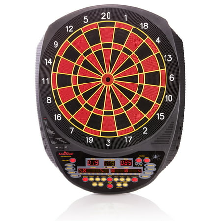 Arachnid Inter-Active 6000 Tournament-Size Electronic Dartboard Features 27 Games with 123 Variations for up to 8