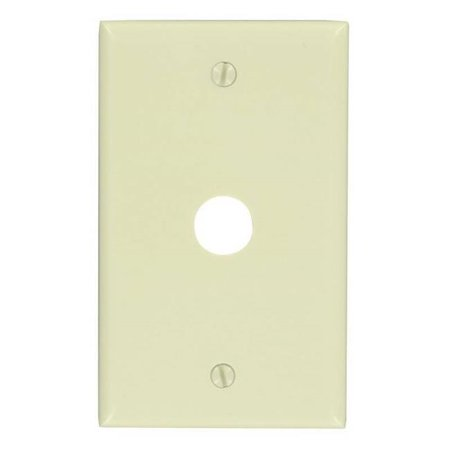 0.62 in. Hole Device Telephone Wall Plate, - Hole Device Telephone