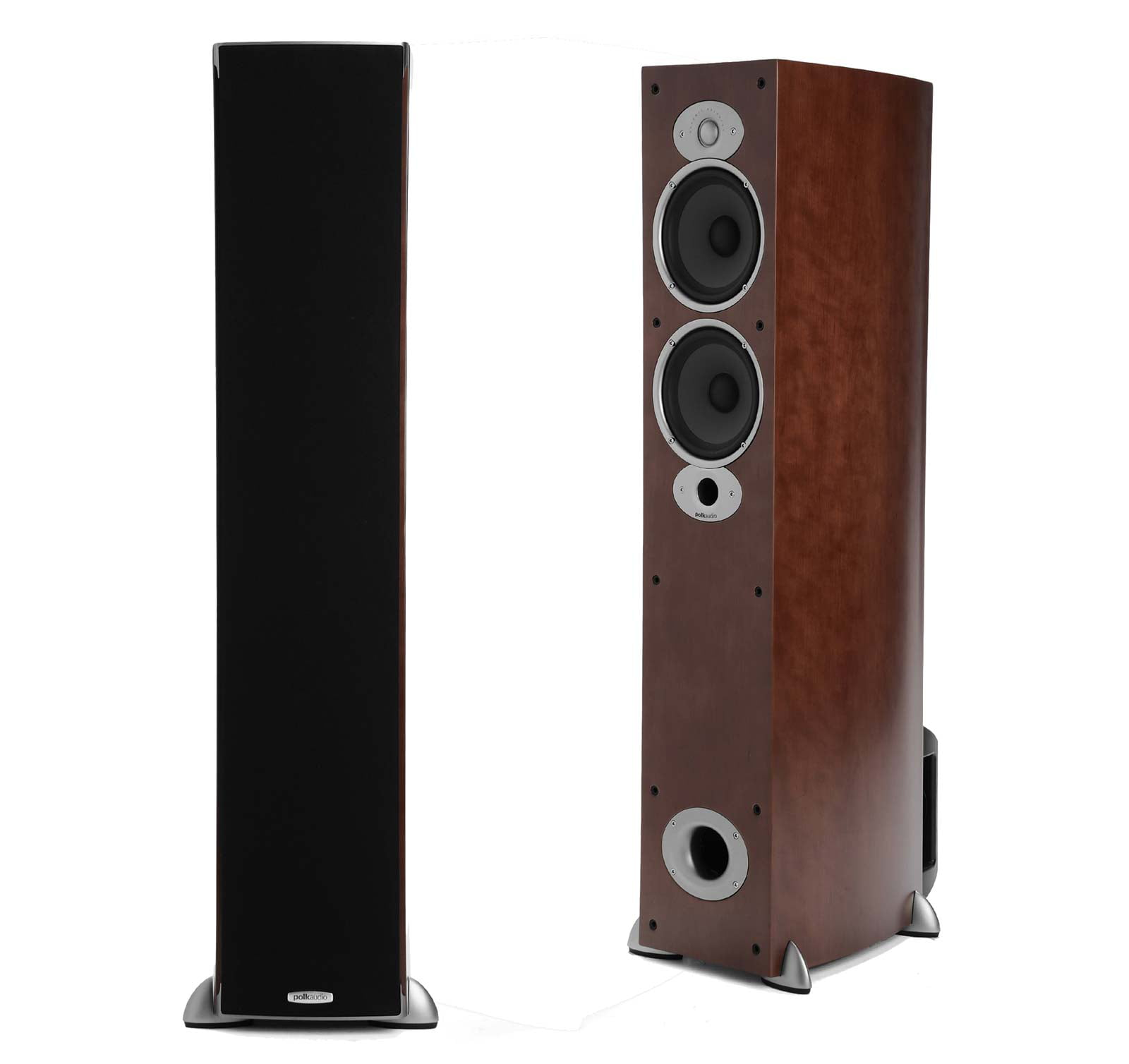 Polk Audio RTiA5 Cherry (Pair) Open Box 2-Way Tower Speakers by Polk Audio