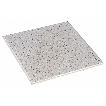"703 White ARMSTRONG Mineral Fiber Ceiling Tile,24/"" W,48/"" L,5//8/"" Thick,PK10"