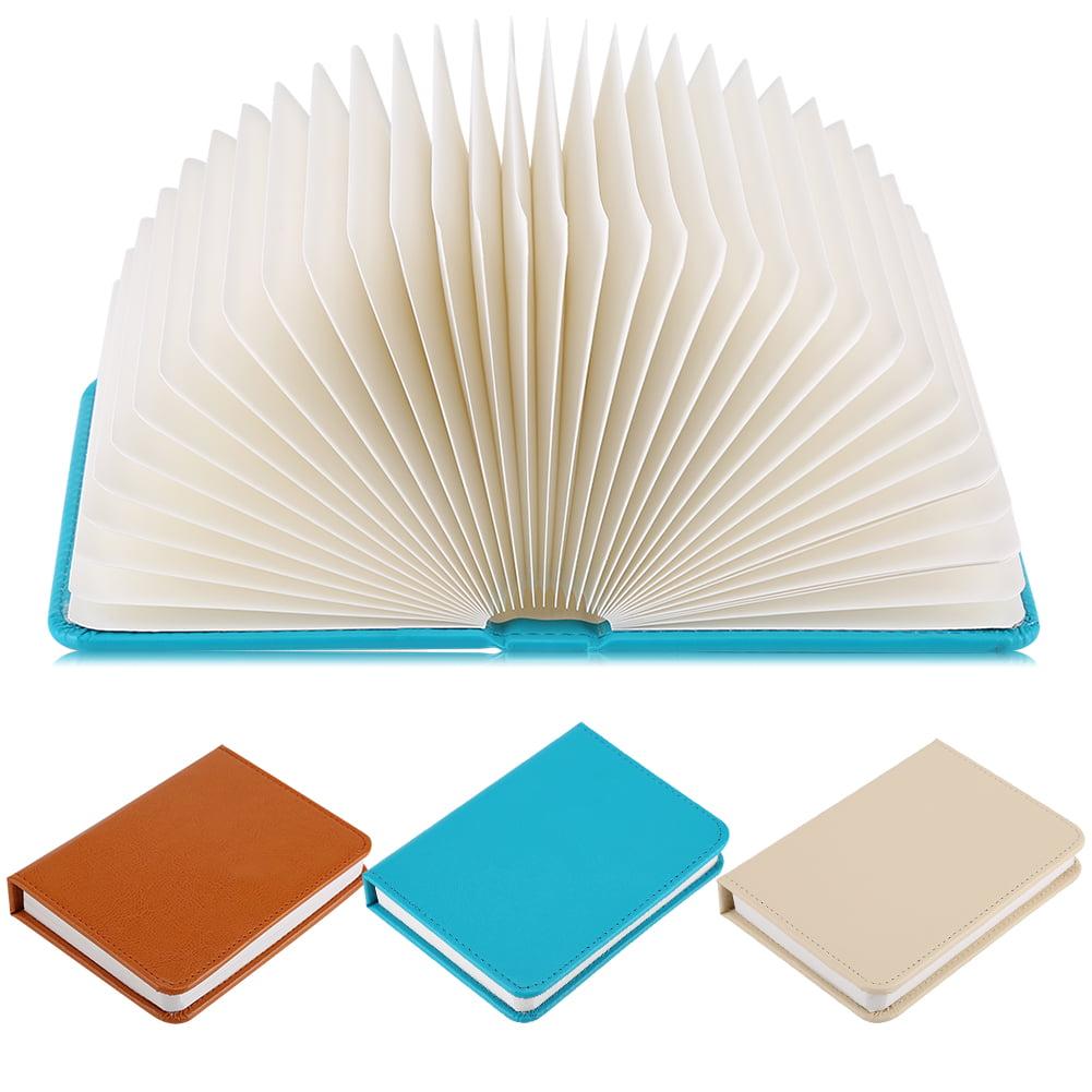 Tbest 5 Colors Creative Book-shaped LED Night Light Foldable Table Lamp USB Desk Booklight   ,Booklight, Desk Night Light