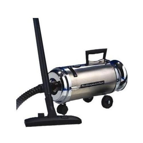 Metropolitan Professionals Stainless Steel Mini Canister Vacuum with HEPA FILTER