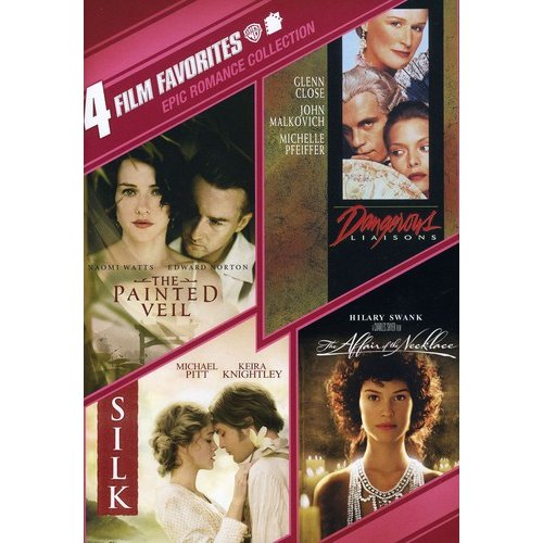 Epic Romances Collection: 4 Film Favorites - Dangerous Liaisons / The Painted Veil / Silk / The Affair Of The Necklace (Widescreen)