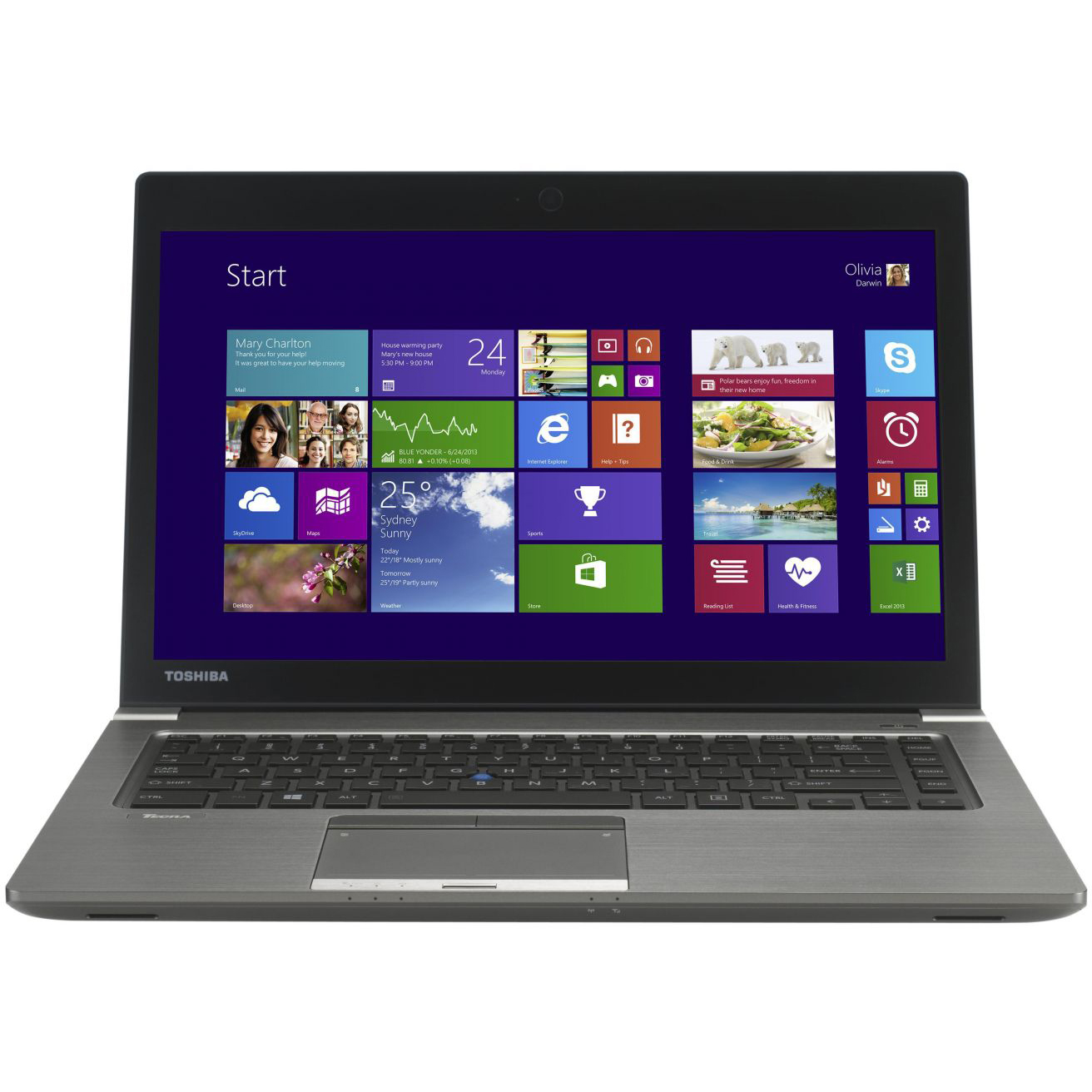 "Refurbished Toshiba Tecra Z40-A 14"" Laptop Intel i7-4600U Dual Core 2.1GHz 16GB 128GB SSD"
