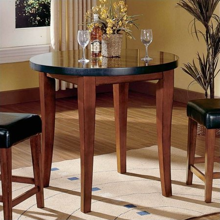 Steve Silver Company Bello Round Granite Counter Height Dining Table - Granite countertop dining table