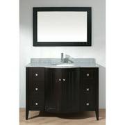 Bauhaus Bath Ridgeport 48'' Single Bathroom Vanity Set with Mirror