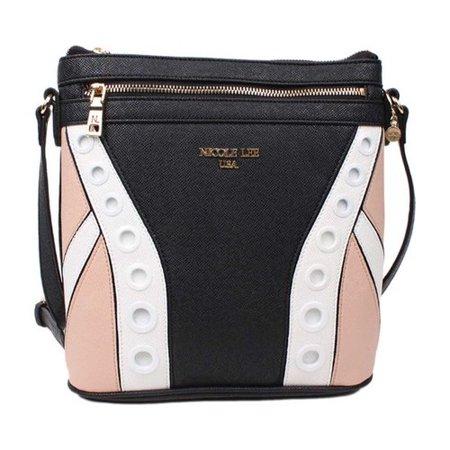 Women's Nicole Lee Elodie Color-Block Crossbody Bag  10.5