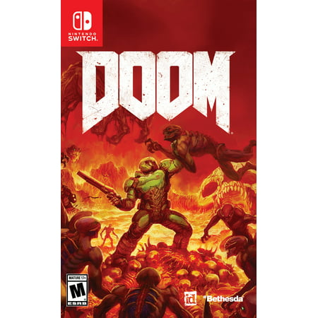 DOOM, Nintendo, Nintendo Switch, 045496591809 Bethesda Softworks