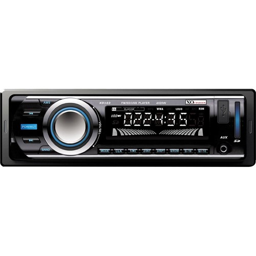 Vision Half DIN USB SD Radio Car Stereo Receiver Audio Bluetooth Enabled FM Mp3