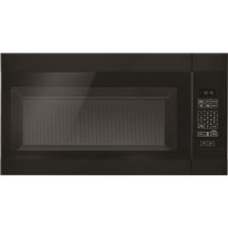 Amana 1 5 Cu Ft Over The Range Microwave Oven Black