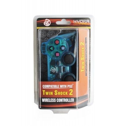 PS2 Wireless Hydra Clear Blue Controller for Sony Playstation 2 System