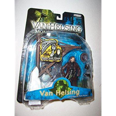 Jakks Pacific Van Helsing Monster Slayer Van Helsing Action Figure With Grappling Hook Playset