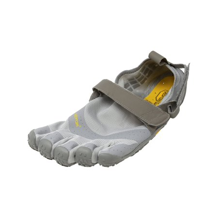 Vibram Five Fingers Men's V-Aqua Grey Ankle-High Athletic Water Shoe - 10M (Vegan Grey Synthetic Athletic Shoes)