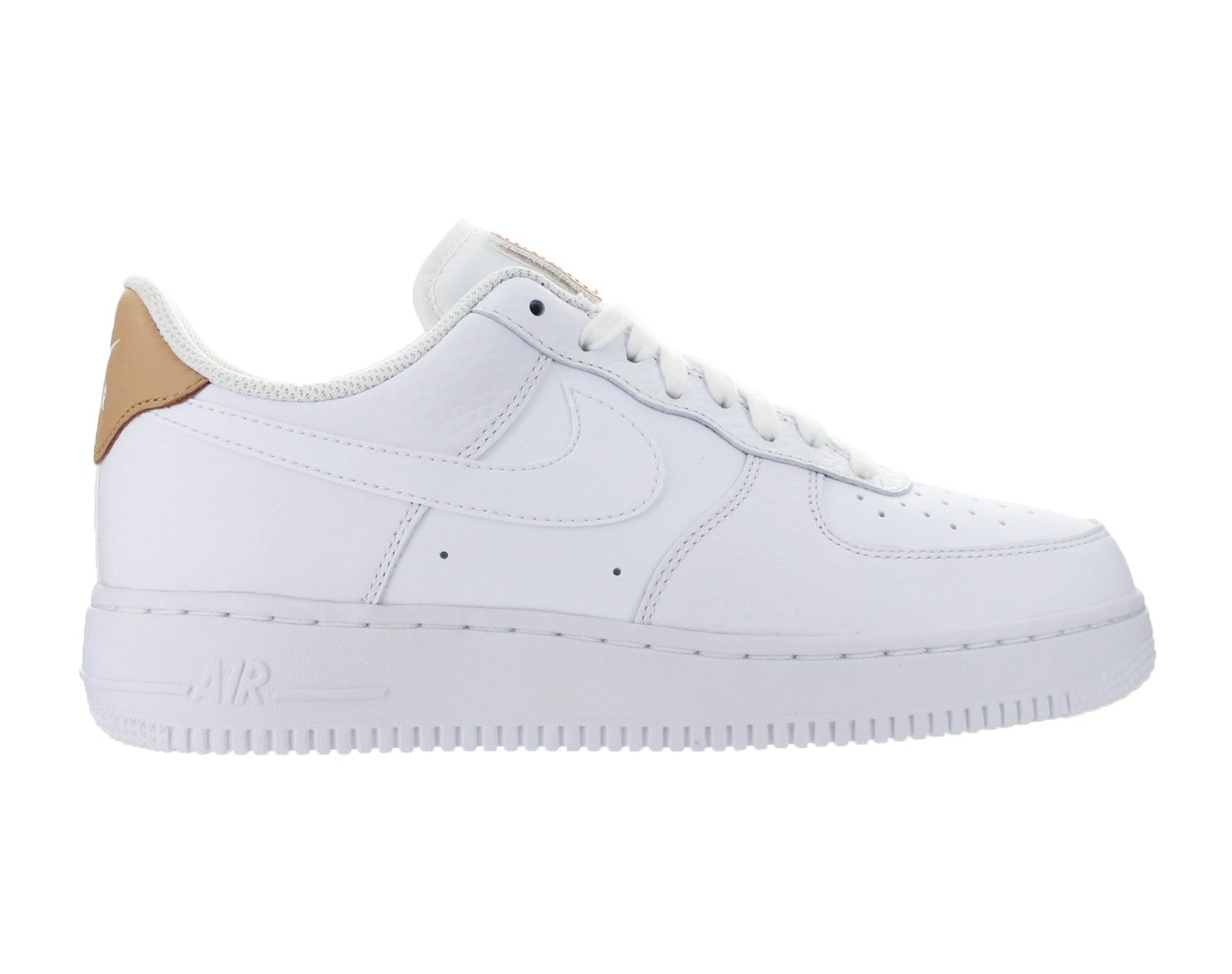 1a19deef72e Mens Nike Air Force 1  07 LV8 White Vachetta Tan Gum Light Brown 71815 -  Walmart.com