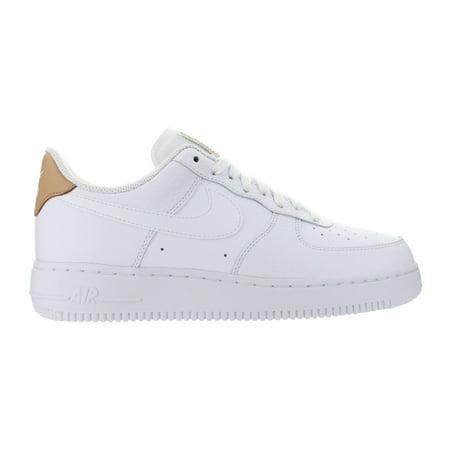 best service 601e8 fbd63 Nike - Mens Nike Air Force 1  07 LV8 White Vachetta Tan Gum Light Brown  71815 - Walmart.com