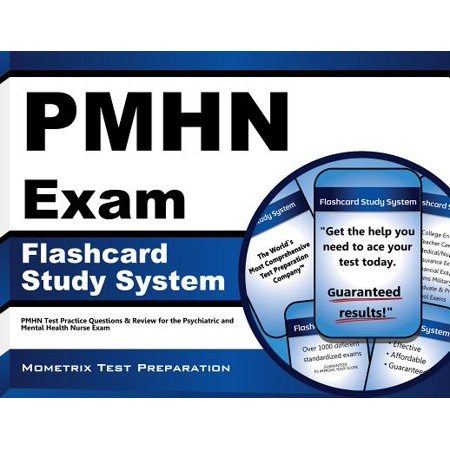 PMHN Exam Flashcard Study System: PMHN Test Practice Questions & Review for  the Psychiatric and Mental Health Nurse Exam (Cards) by PMHN Exam Secrets