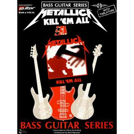 Metallica: Kill 'Em All (Play-It-Like-It-Is Bass