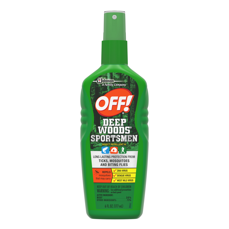 OFF! Deep Woods Insect Repellent VII Pump Spray, 6.0 Fl Oz