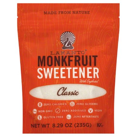 LAKANTO SWEETNER POUCH CLASISC FRUIT, 8.29 OZ (Pack of 8) - Fruit Sweater