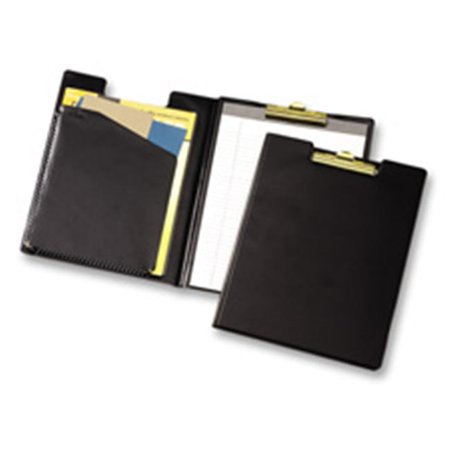 Cardinal Brands- Inc  Pad Holder- Brass Clip- Legal- 9-.50in.x.63in.x15-.50in.- Black