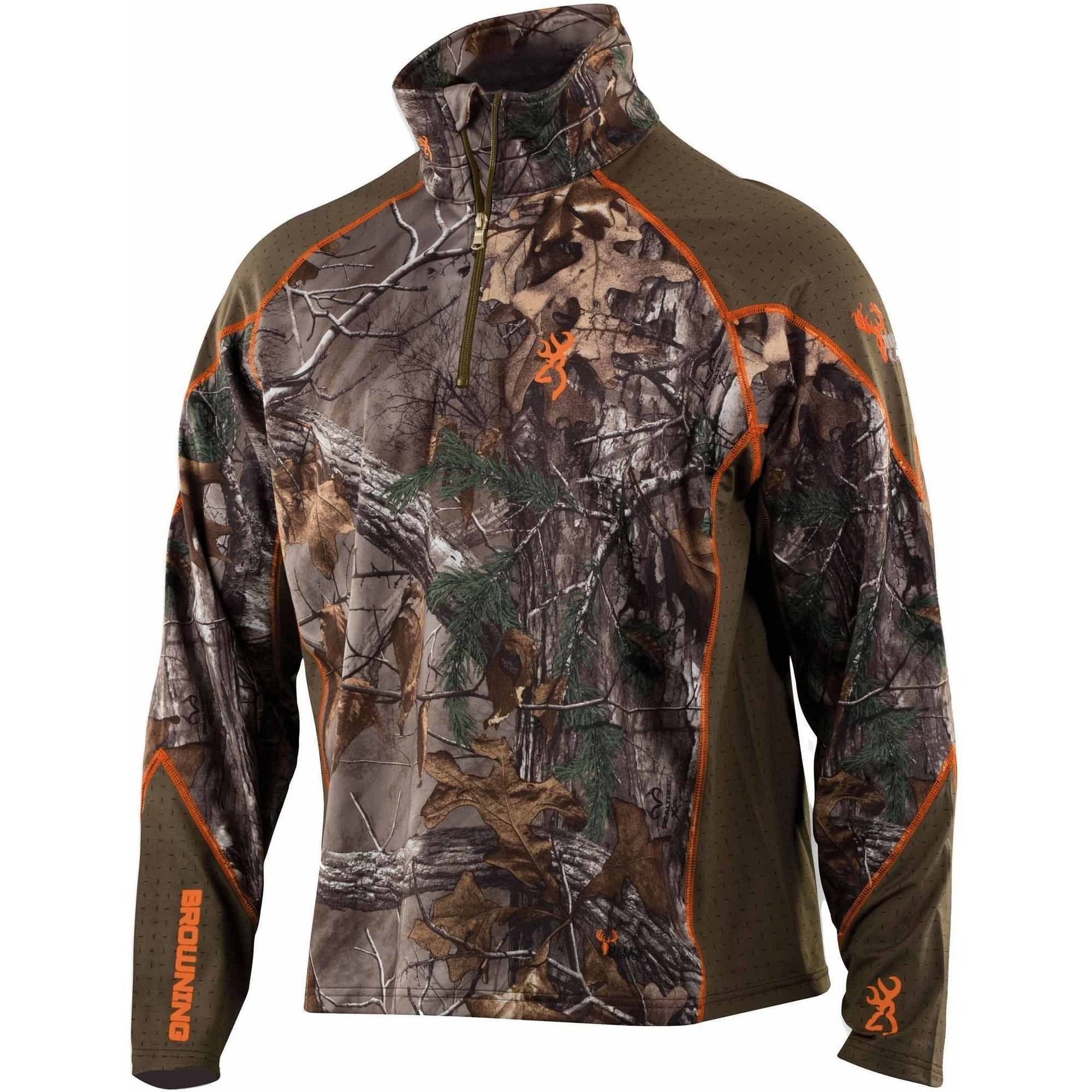 Browning Hell's Canyon Base Layer 1 4 Zip Top by Browning
