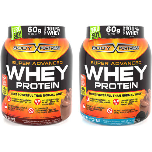 Body Fortress Super Advanced Whey Protein Value Bundle-Pick 2