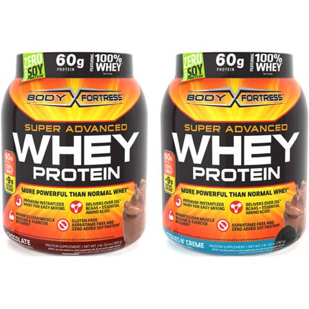Body Fortress Super Advanced Whey Protein Value Bundle-Pick