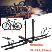 Bike Stand,Ymiko SUV Car Bike Carrier Metal Heavy Duty Bike Bicycle Holder Transporting Rack Stand